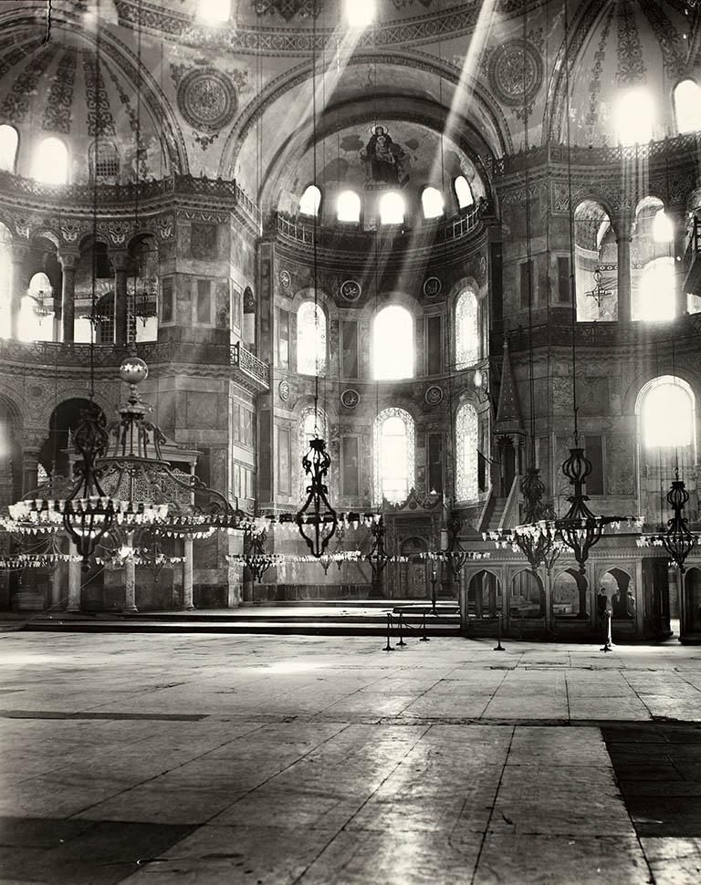 Hagia Sophia in 1935