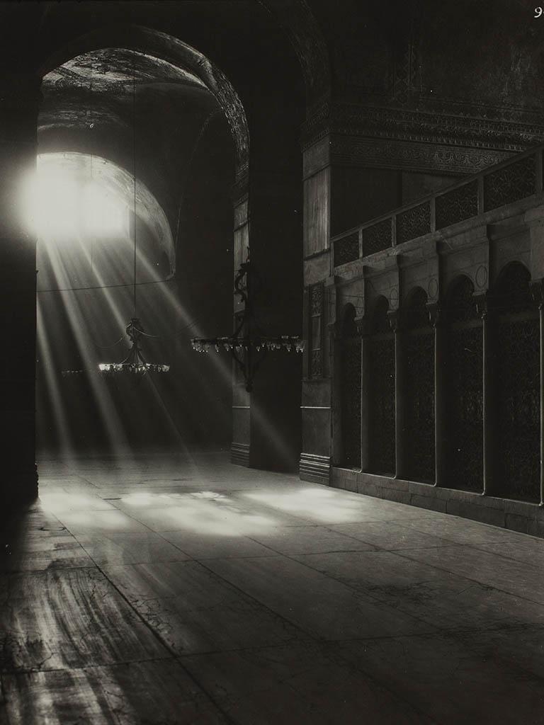 Hagia Siophia in 1935 - South Aisle