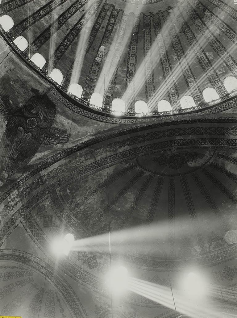 Hagia Sophia in 1935 - dome