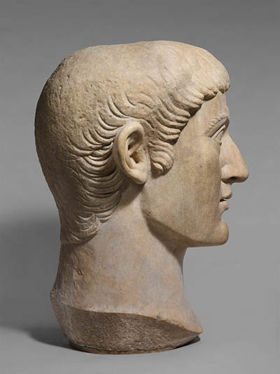 Head of Constantine the Great