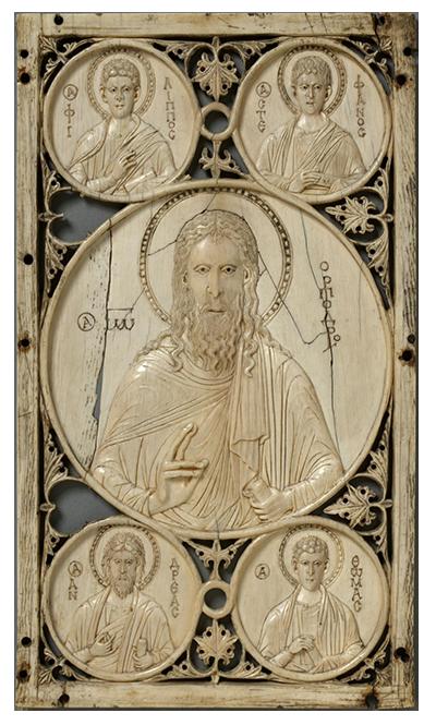 Ivory of St. John and Saints