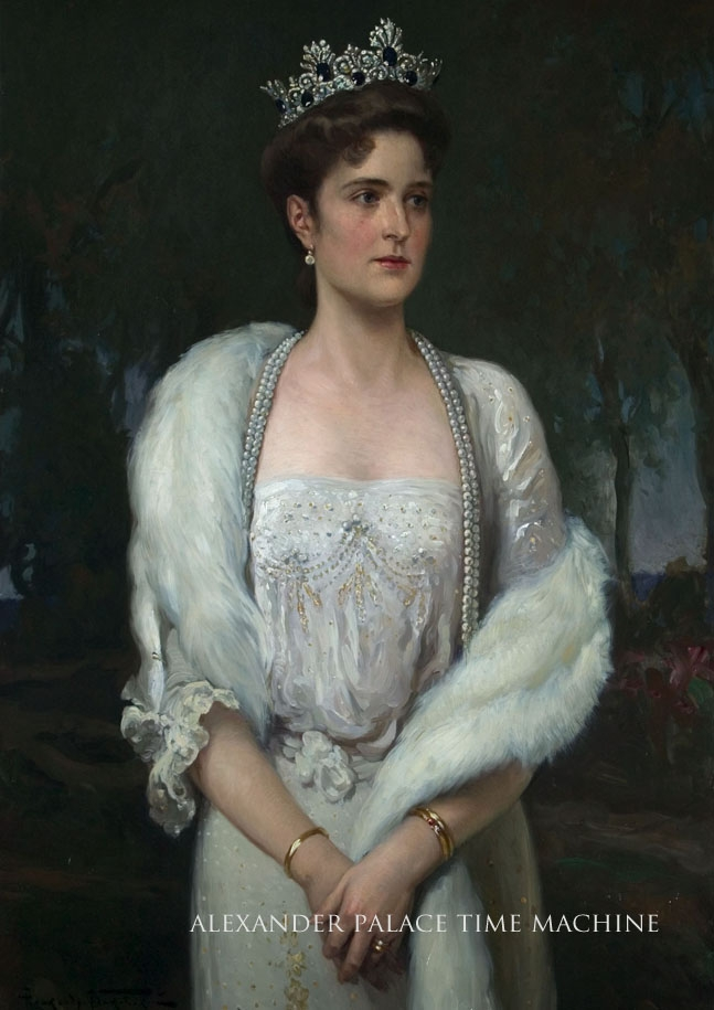 Makovsky Portrait of Empress Alexandra of Russia