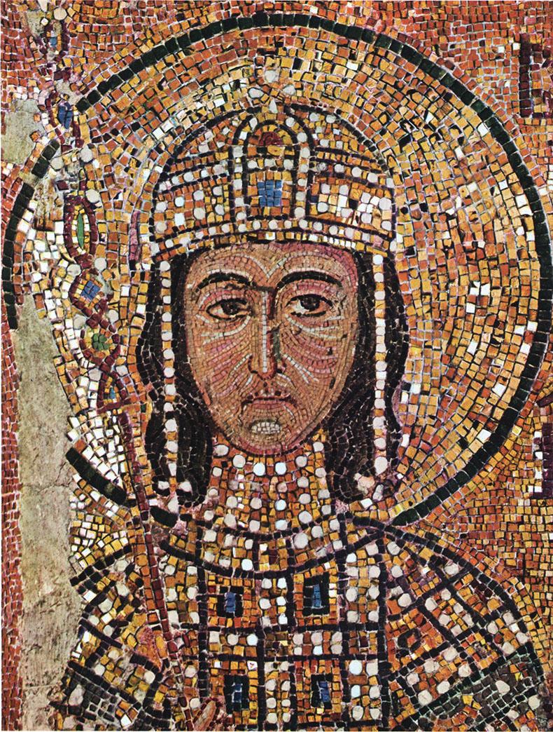 Alexios Komnenos from Hagia Sophia