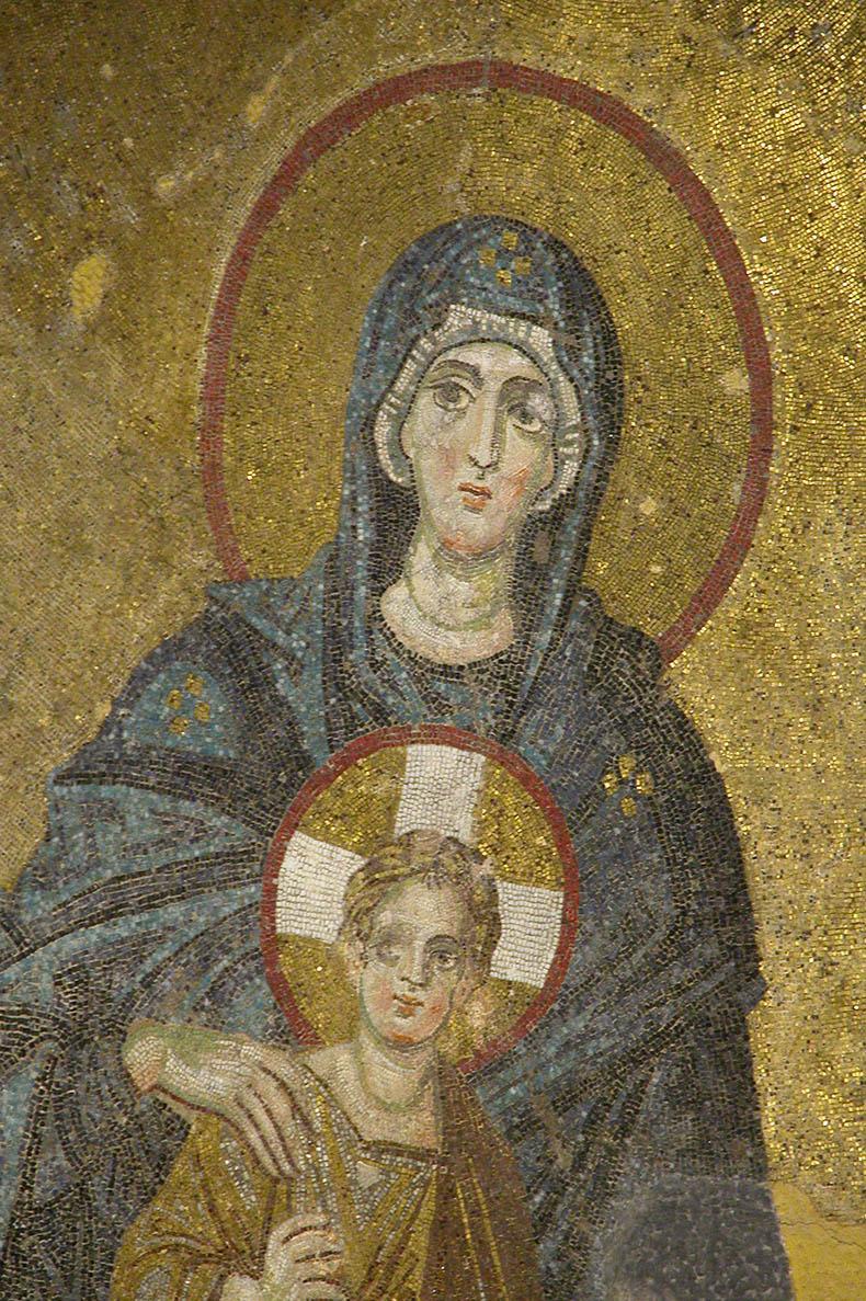Virgin and Christ Child Hagia Sophia