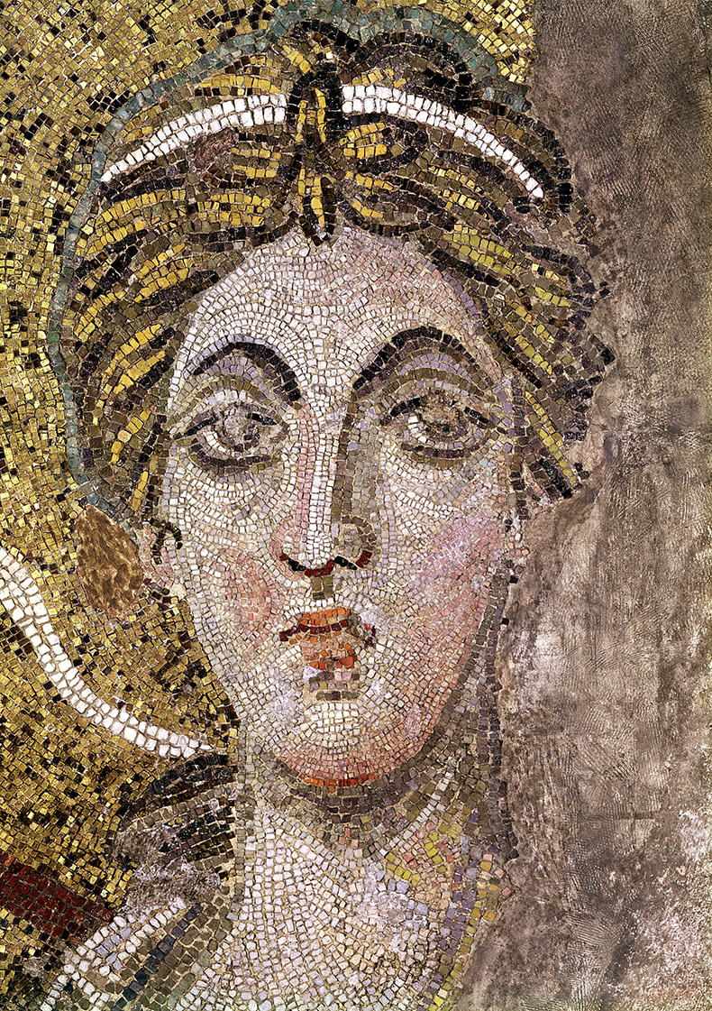 Face of the Angel in Hagia Sophia