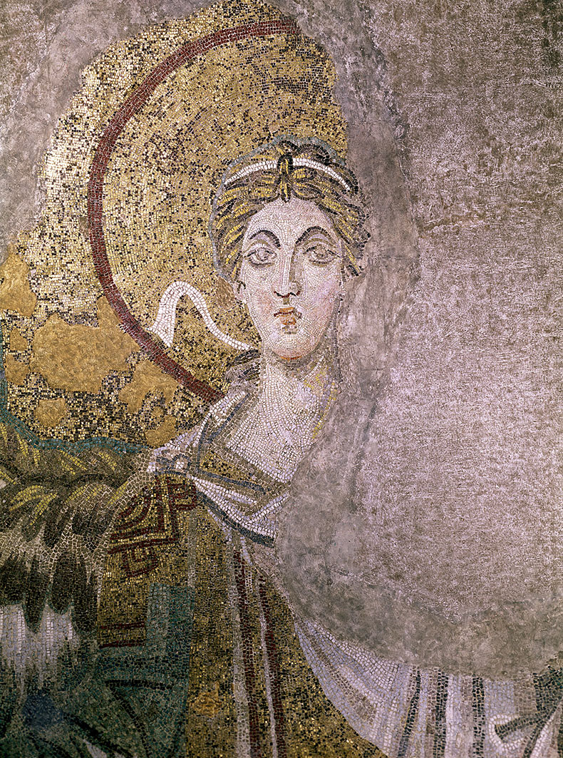 Bema Angel in Hagia Sophia