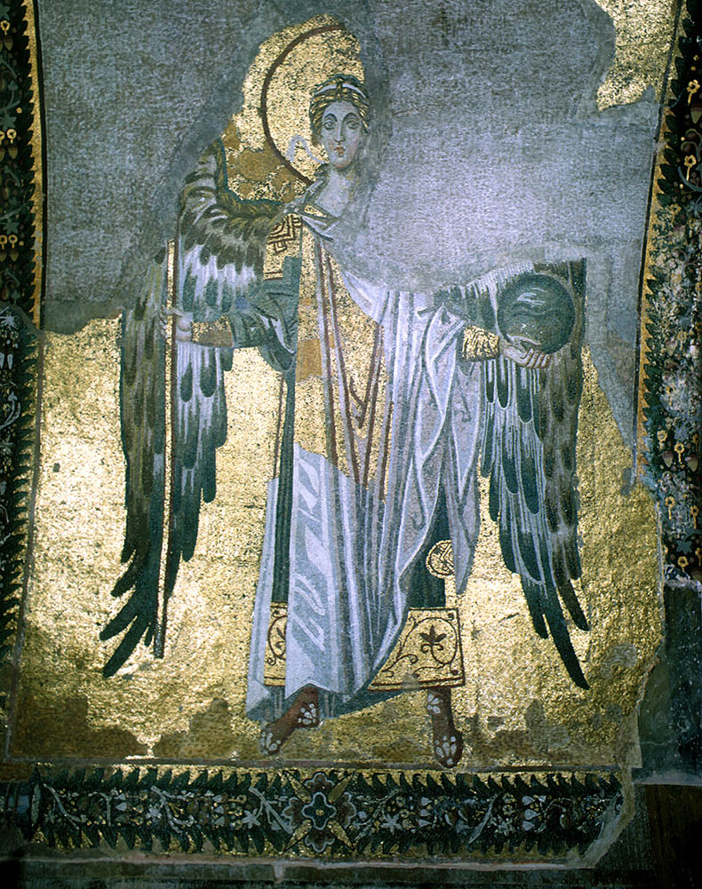 Archangel Gabriel from Hagia Sophia