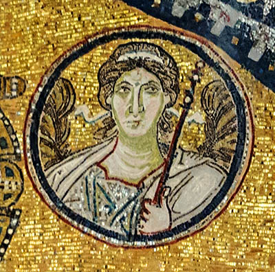 Archangel Michael in the Hagia Sophia