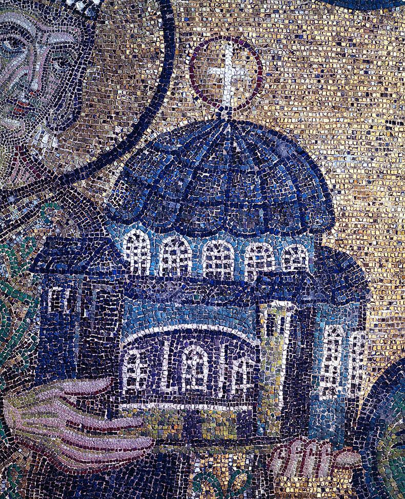 Model of Hagia Sophia