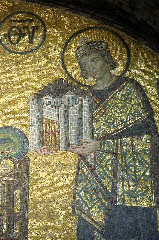 Constantine in Hagia Sophia