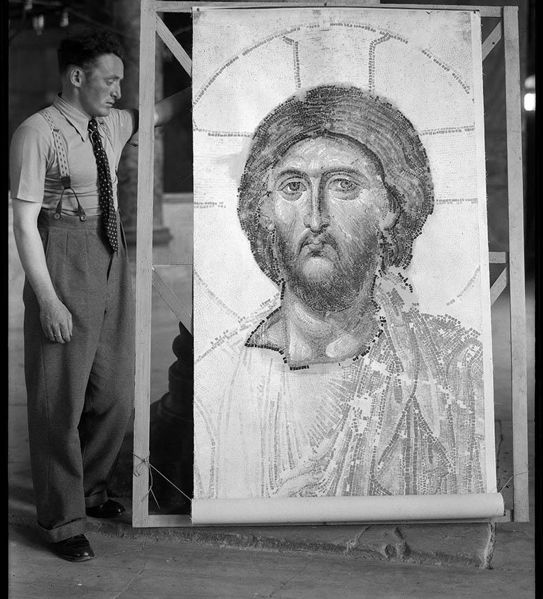 Making Molds in Hagia Sophia