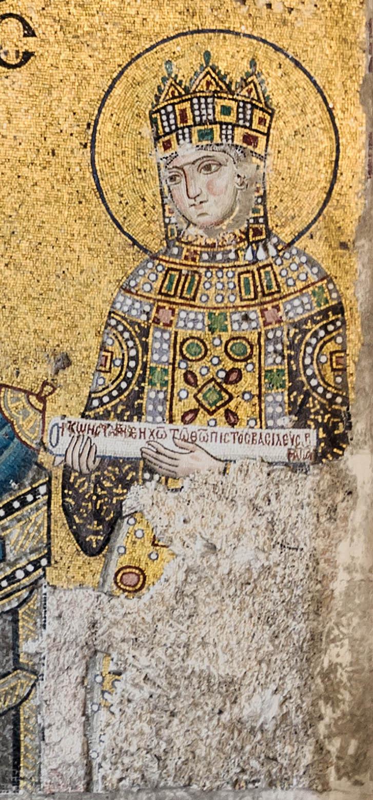 Augusta Zoe from Hagia Sophia