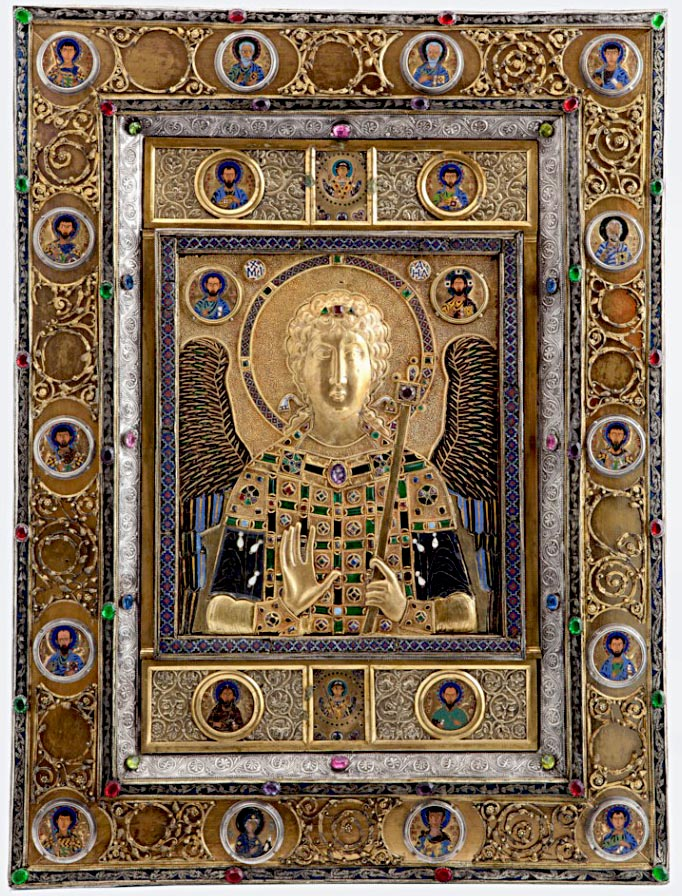 Byzantine Icon of the Archangel Michael
