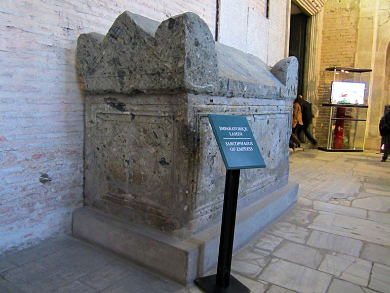 Tomb of the Augusta Eirene in Hagia Sophia