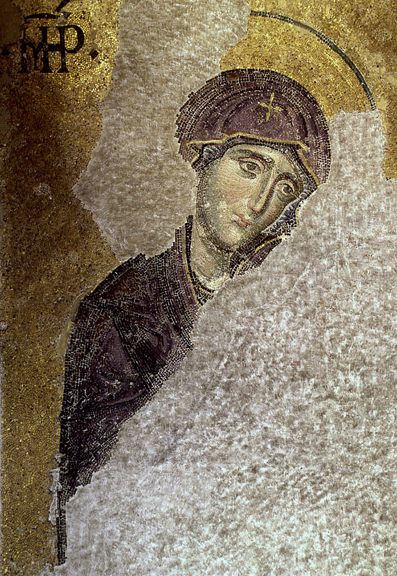Mother of God - Deesis Mosaic - Hagia Sophia