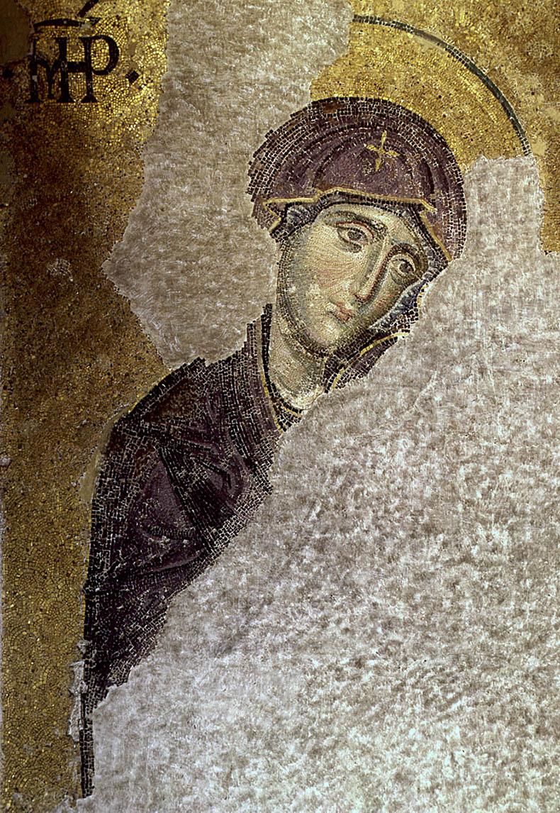 Mother of God - Deesis Mosaic - Hagia Sophia