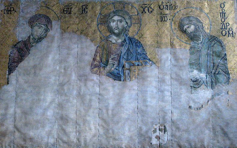 Copy of th Deesis in the Met Museum