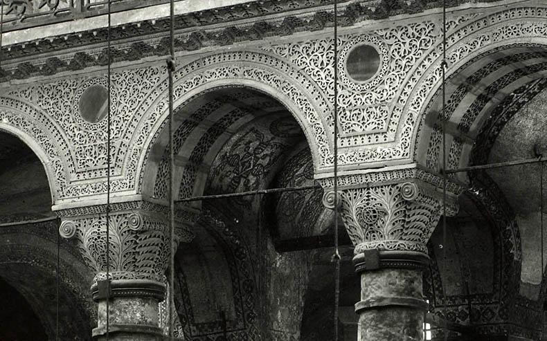 Nave Columns in Hagia Sophia