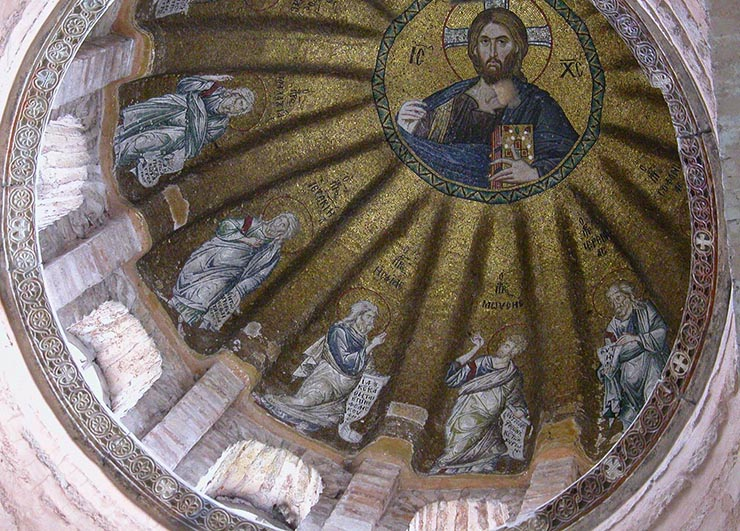 Pantokrator in Dome of the Pammacaristos