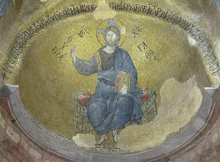 Christ Mosaic from the Pammakaristos