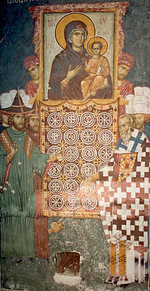 Byzantine Hodegetria Procession in Constantinople
