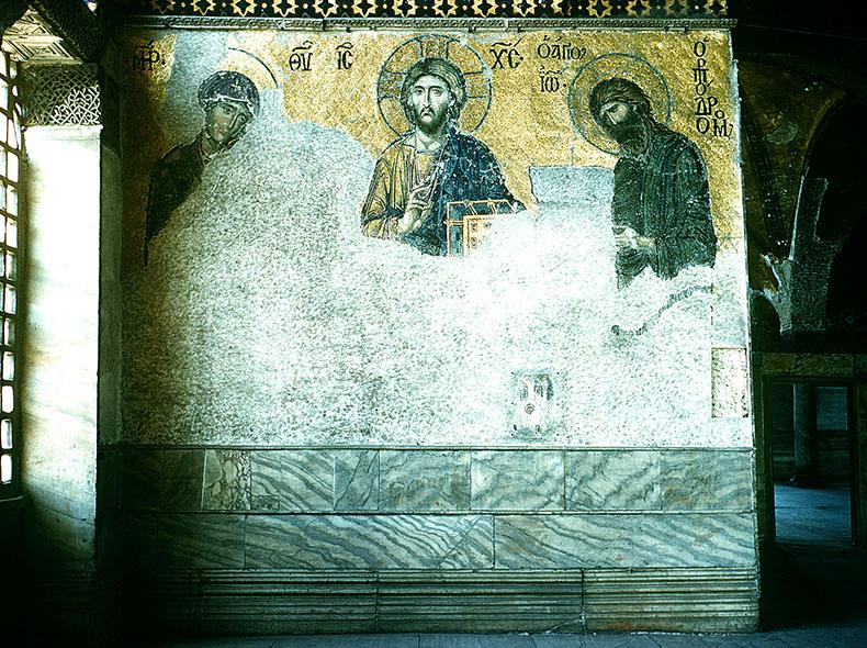 Christ the Savior Deesis Hagia Sophia