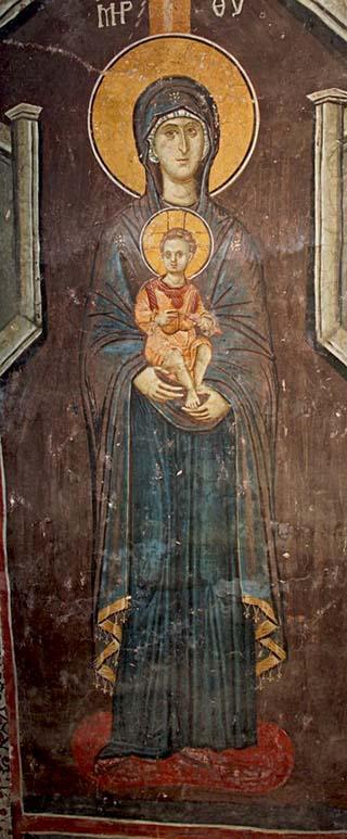 Theotokos with Christ