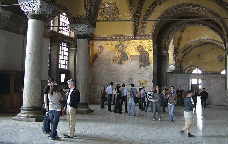 The Deesis Mosaic in Hagia Sophia
