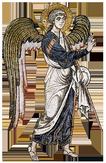 Angel from Daphni