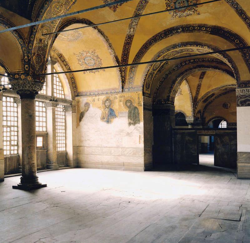 Deesis in Hagia Sophia