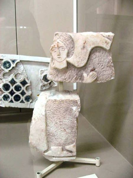 A Marble Angel from the area of Boukoleon