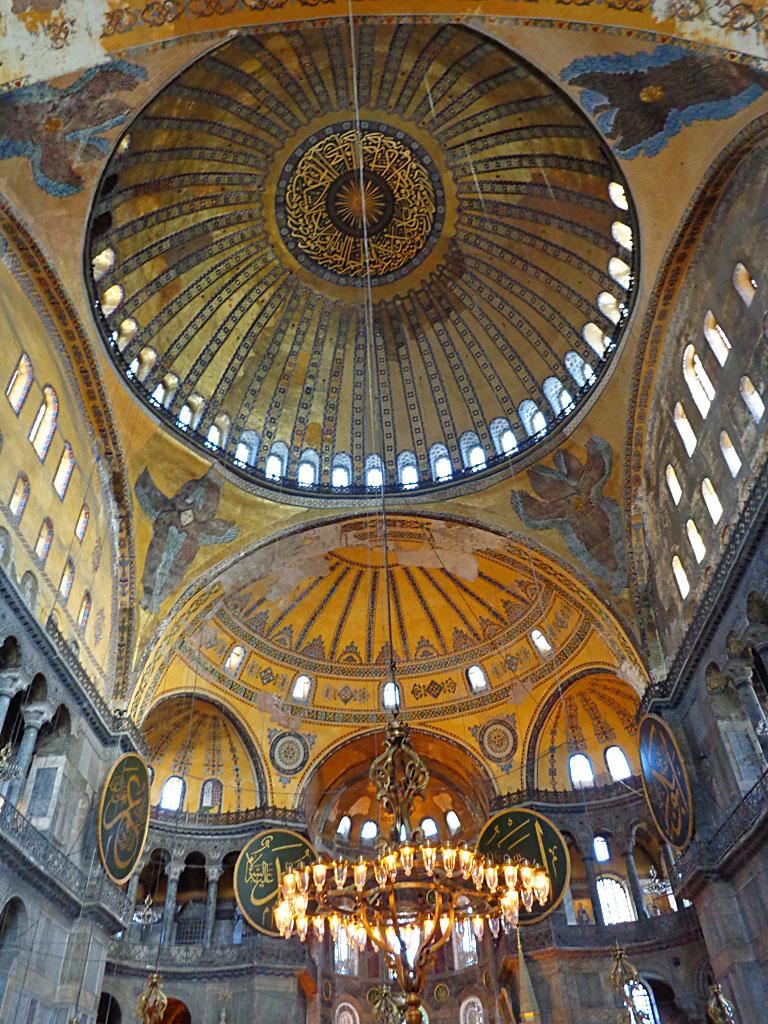 Dome of Hagia Sophia - interior view