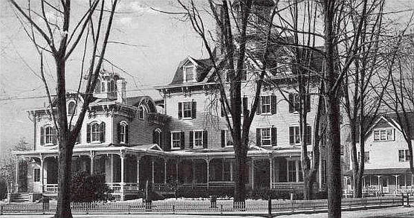 The Brunswick Home where Idelene Cotton died