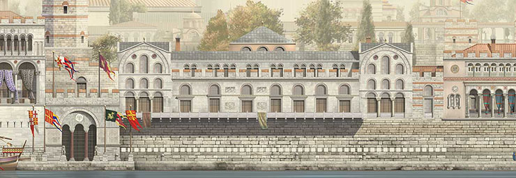 Palace of the Boukoleon in Constantinople
