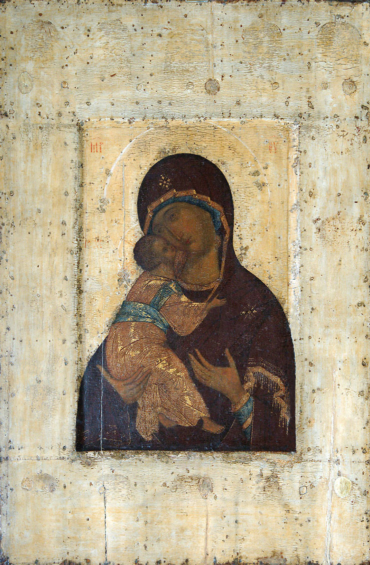 Andrei Rublev Virgin of Vladimir copy icon