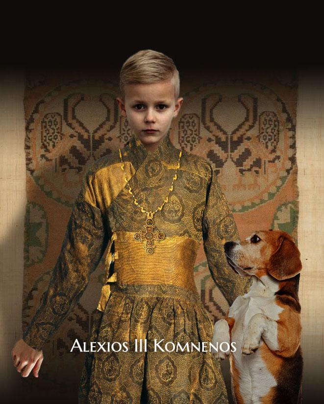 Alexios II son of Manuel Komnenos