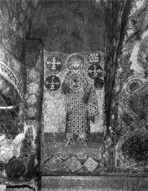 Alexander Mosaic in Hagia Sophia