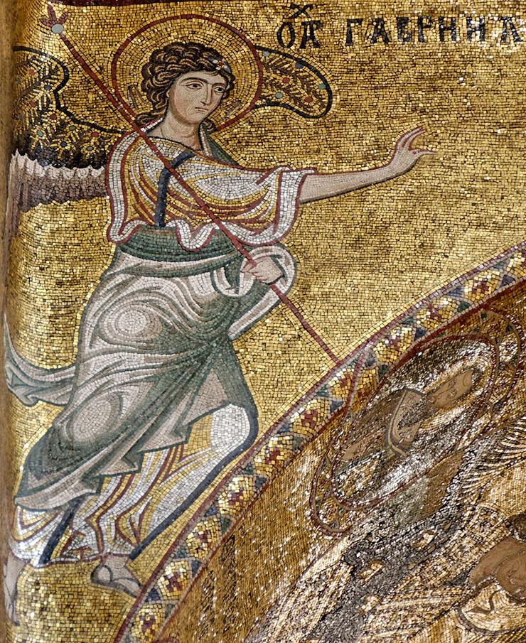 Archangel Gabriel Byzantine annunication