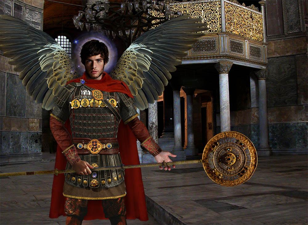 Archangel Michael in Hagia Sophia