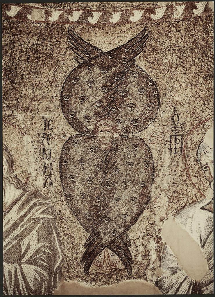 Cherubim Mosaic in Dome Parigortissa Arta