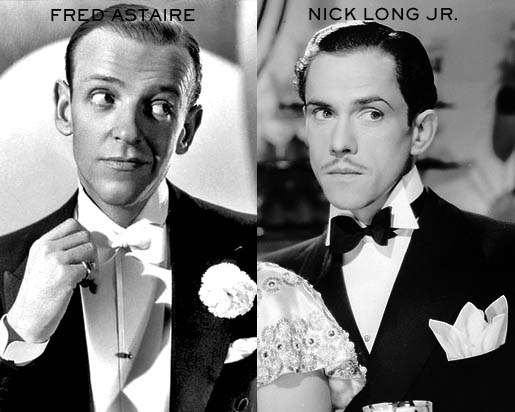 Fred Astaire and Nick Long, Jr.