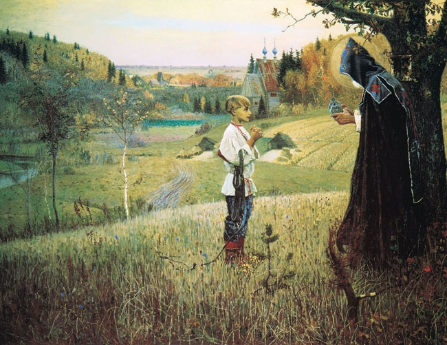 Nesterov Painting of a Vision