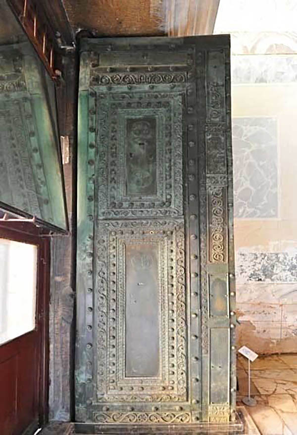 sad fate of the beautiful doors in hagia sophia