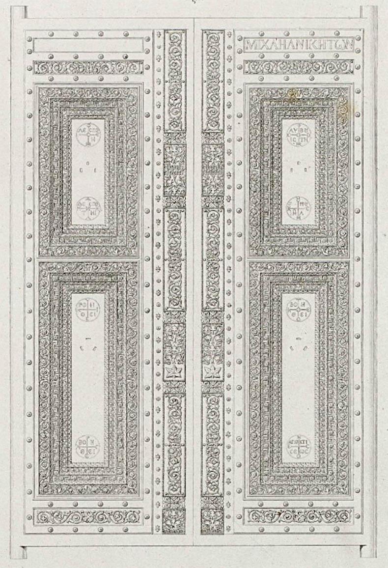 Beautiful Doors in Hagia Sophia