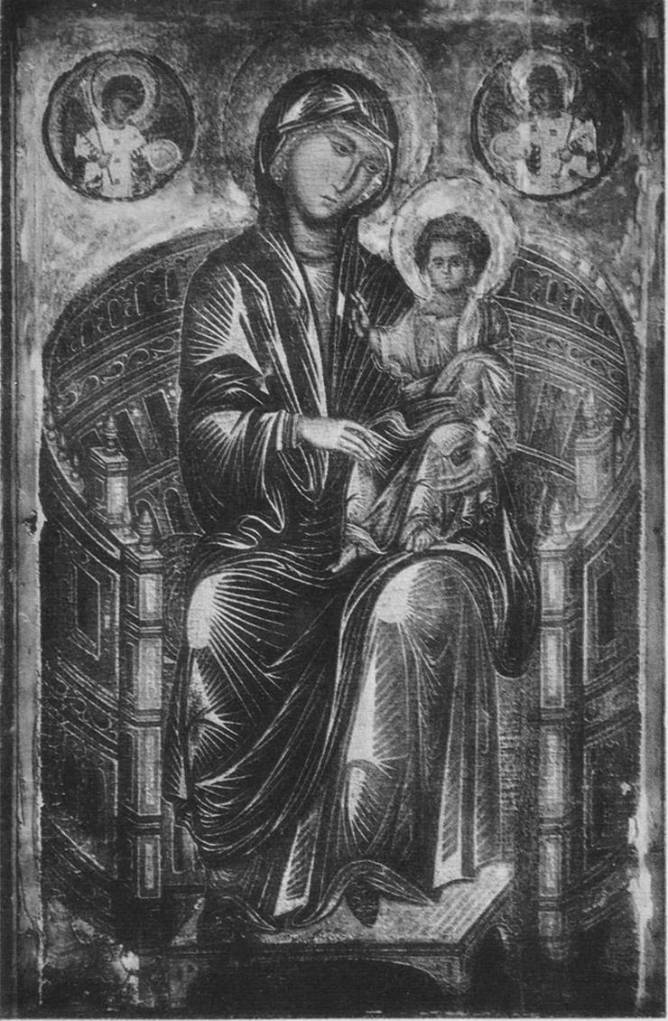 Mellon Madonna Before Restoration