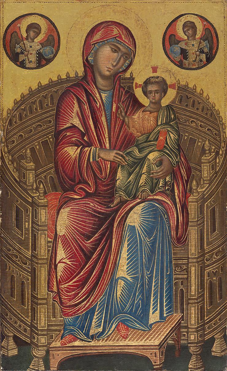 Mellon Byzantine Madonna