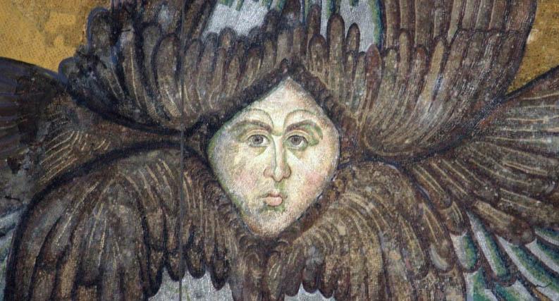 Image of the Seraphim from Hagia Sophia