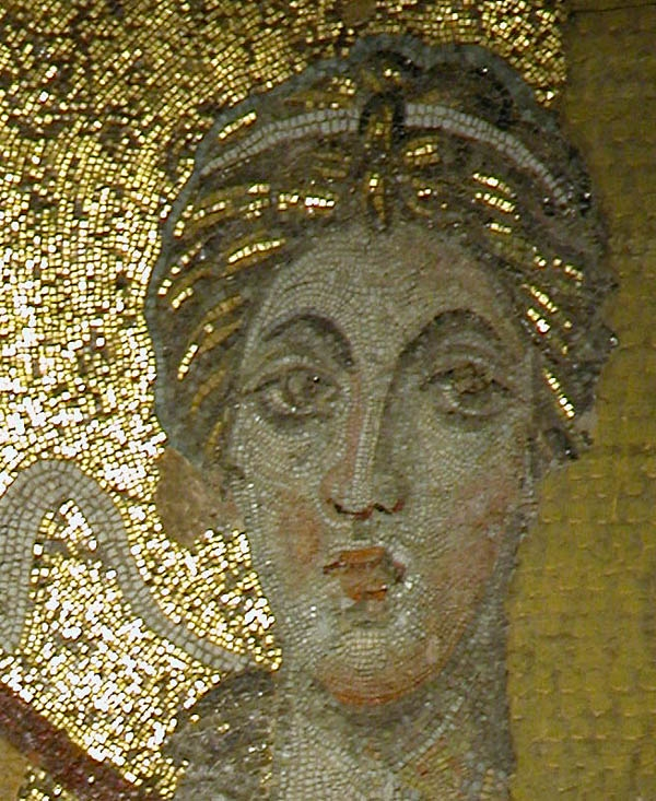 The Face of the Angel in Hagia Sophia