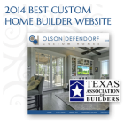 Best Website Award - Texas Association of Builders