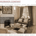Pallasart designs new Husbands Homes - Real Estate Services Website